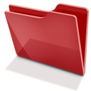 Red, Tfolder Icon