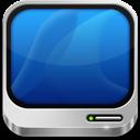 Computer, Silver Icon