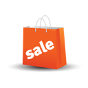 Bag, Sale Icon