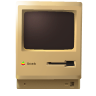Macintoshplus, Noshadow Icon