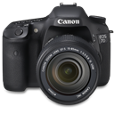 7d, Canon, Front, Up Icon