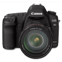 5d, Canon, Front, Up Icon