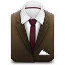 Brown, Suit Icon