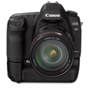 5d, Bg, Canon, Front, Up Icon