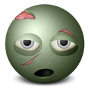 Emoticon, Zombie Icon