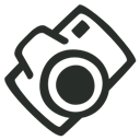 Camera, Outline Icon