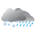Sleet, Weather Icon