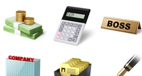 Desktop Business Icons