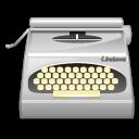 Package, Typewriter, Wordprocessing Icon