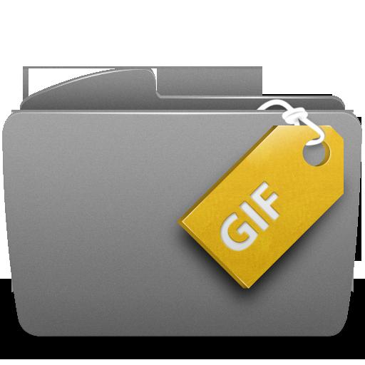 Folder, Gif Icon