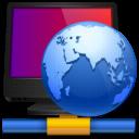 Hosting, Internet, Network Icon