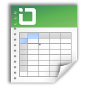 Document, Excel, File Icon