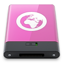 Pink, Server, w Icon