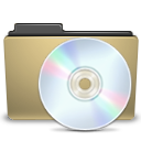 Cd, Folder, Manilla Icon