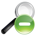 Green, Minus, Search Icon