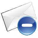 Blue, Delete, Email Icon