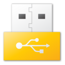 Usb, Yellow Icon
