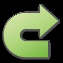 Green, Redo Icon