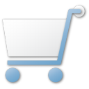 Blue, Cart, Shopping Icon