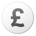Currency, Pound Icon