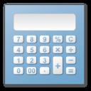 Blue, Calculator Icon