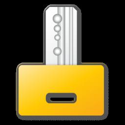 Key, Yellow Icon