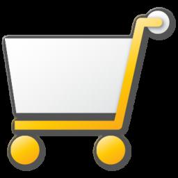 Cart, Shopping, Yellow Icon