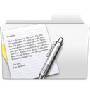 Folder, Textedit Icon