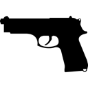 Gun, Pistol, Weapon Icon