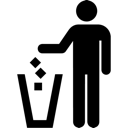 Garbage, Litter, Trash Icon