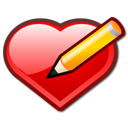 Bookmark, Edit, Heart, Love, Pen Icon