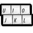 Keyboard, Keys Icon