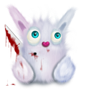 Animal, Murder, Pink, Rabbit Icon