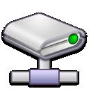 Drive, Network Icon