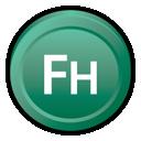 Adobe, Cs, Freehand Icon