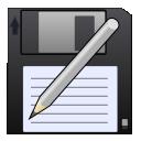 As, Disk, Pen, Save, Write Icon