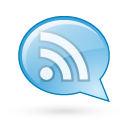 Bubble, Cyan, Feed, Rss, Speech Icon
