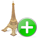 Add, Torreeiffel Icon