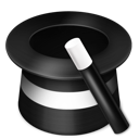 Hat, Magic, Wand Icon