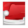 Cap, Christmas, Icon, Santa Icon