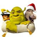 And, Donkey, Icon, Puss, Shrek Icon
