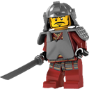 Chinese, Lego, Warrior Icon
