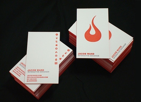 2 color,cotton paper,letterpress business card