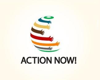 hand,round,action logo