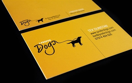 creative,yellow,fancy,2 color business card
