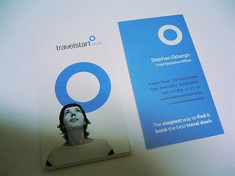 Travel Start business card