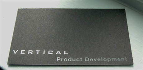 engraved,duplexed,earthy surface,embossed,foil stamped business card