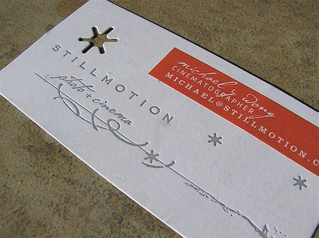 Still Motion business card