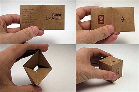 TAM Cargo Design business card