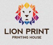 Lion Print - Printing House